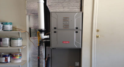 heating install in Sparks